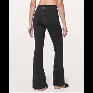 Lululemon groove pant black 4